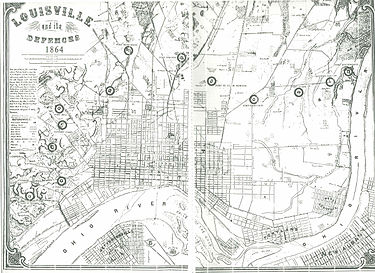American Civil War fortifications in Louisville Wikipedia