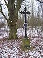 Lounín, křížek v sedle.jpg