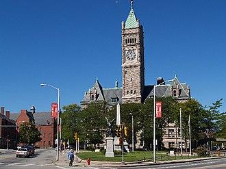 City Hall Historic District (Lowell, Massachusetts) - Lowell City Hall