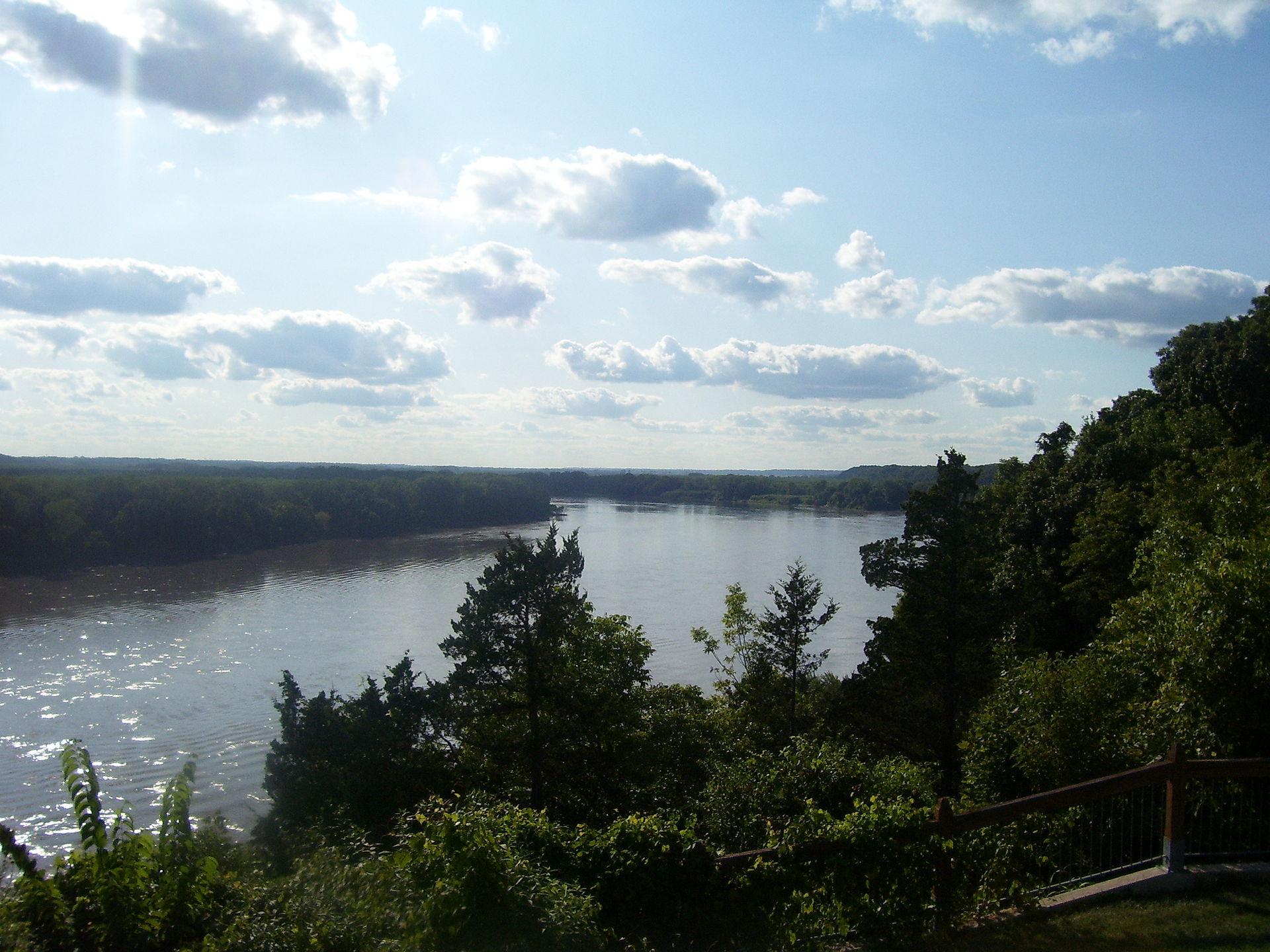 Missouri Osage River Derailed Rock Island Boxcars