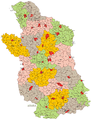 Lublin Voivodeship Administrative Map 1933.png