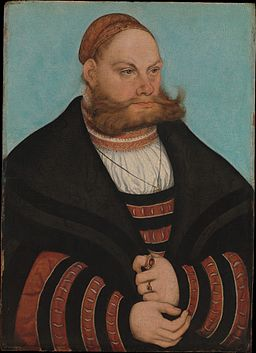 Lukas Spielhausen by Lucas Cranach the Elder