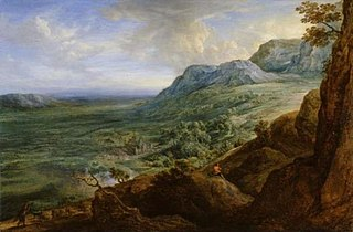 The Escorial from a foot-hill of the Guadarrama Mountains (after Sir Peter Paul Rubens)
