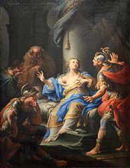 Lucretia Lamenting Her Disgrace