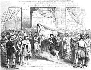 François Ponsard - Last scene of Lucrèce (1843)