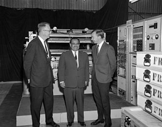 Ahmed Fakhry - Luis Walter Alvarez, Ahmed Fakhry and Jerry Anderson