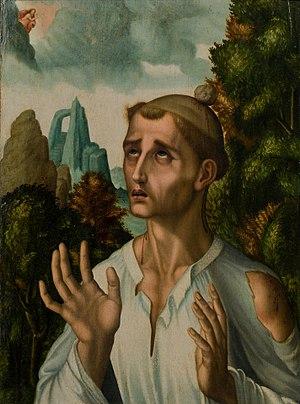 Saint Stephen - Saint Stephen by Luis de Morales