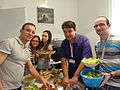 Lunch at EduWiki Learning Day Belgrade 2014-001.JPG