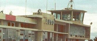 Operation Savannah (Angola) - Image: Luso Airport Angola Dec 1975