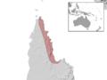 Lygisaurus sesbrauna distribution.png