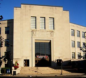 Lynn Memorial City Hall and Auditorium - Image: Lynn City Hall MA 02