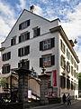 Mühlebach - Haus zum Sonnenhof Schweizerisches Sozialarchiv & Theater Stadelhofen - Stadelhoferstrasse 2011-08-09 15-23-38 ShiftN3.jpg
