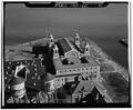 MAIN BUILDING, LOOKING SOUTHEAST - Ellis Island, New York Harbor, New York, New York County, NY HABS NY,31-ELLIS,1-8.tif