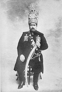 Mohammad Ali Shah Qajar Shah of Persia