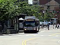 MBTA route SL5 bus at Union Park Street, August 2016.JPG