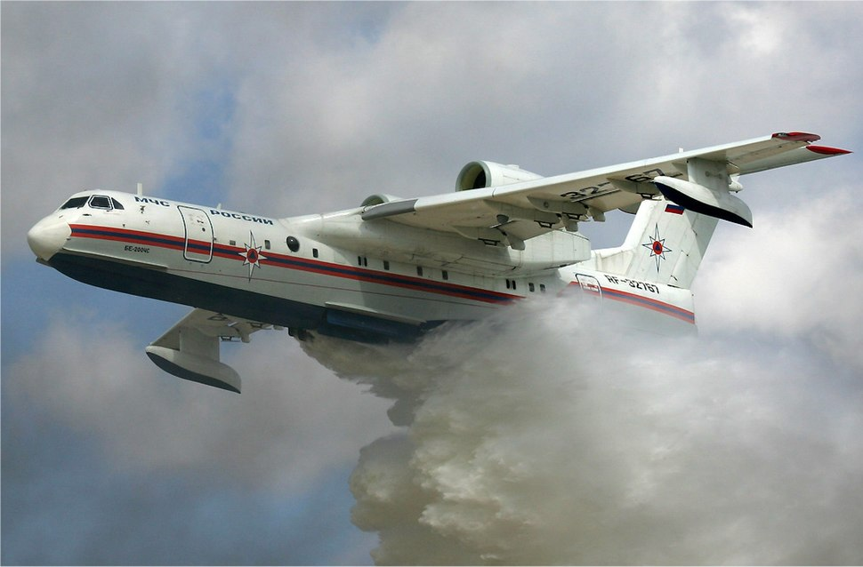 MChS Beriev Be-200 waterbomber