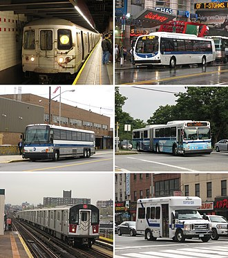 New York City Transit Authority - The New York City Transit Authority (trading as MTA New York City Transit) provides bus, subway, and paratransit service throughout New York City.
