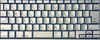 Japanese input methods - Apple MacBook Pro Japanese Keyboard