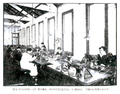 Machinists at work, Bootmaking School, Erskineville 1918.png