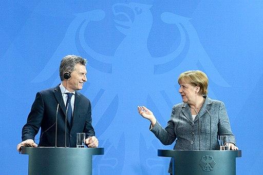 Macri and Merkel