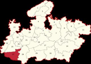 Khargone (Lok Sabha constituency) Lok Sabha Constituency in Madhya Pradesh, India