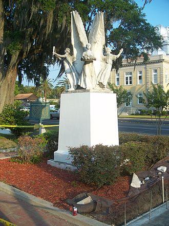 Four Freedoms Monument - Four Freedoms Monument, Madison, Florida
