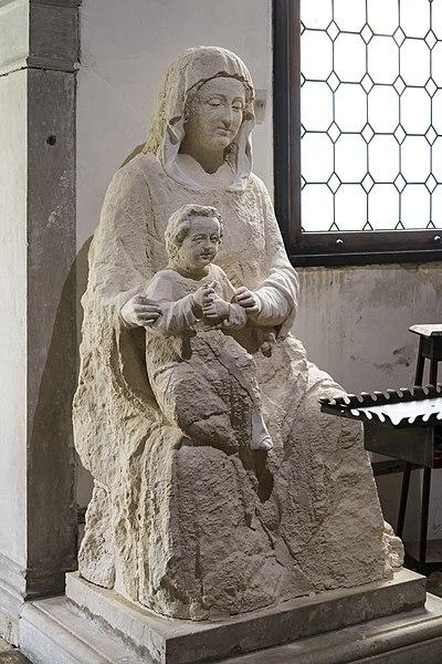 Statue of Madonna dell'Orto