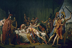 Viriathus - José de Madrazo's painting of the death of Viriatus