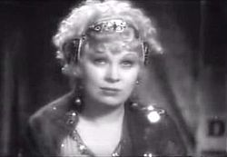 Mae West in I'm No Angel (1933)