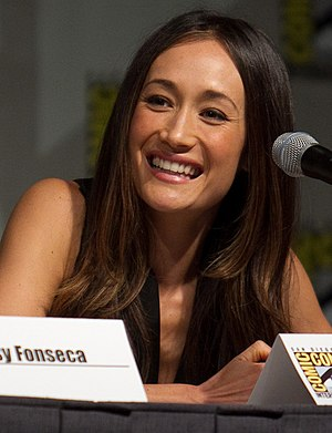 Maggie Q at San Diego Comic-Con in 2010.