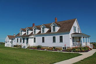 National Register of Historic Places listings in Richland County, North Dakota - Image: Main House Bagg Bonanza Farm