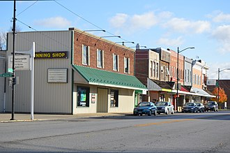 Delta, Ohio - Main Street