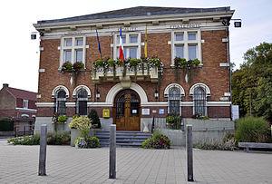 Nieppe - Image: Mairie de la ville de Nieppe