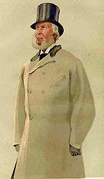 082c14ae0 Desenho de um homem usando um sobretudo.