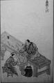 Making crock in Shigaraki from Ōmi-koku-rokugun-bussann-zusetsu.png