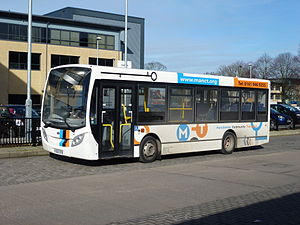 Manchester Community Transport - Alexander Dennis Enviro200 Dart at Wythenshawe bus station in February 2013