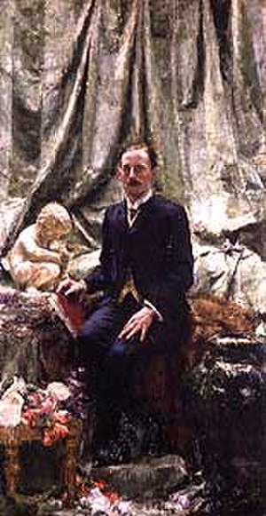 Hugh Lane - Sir Hugh Lane by Antonio Mancini - Oil on canvas (1913)