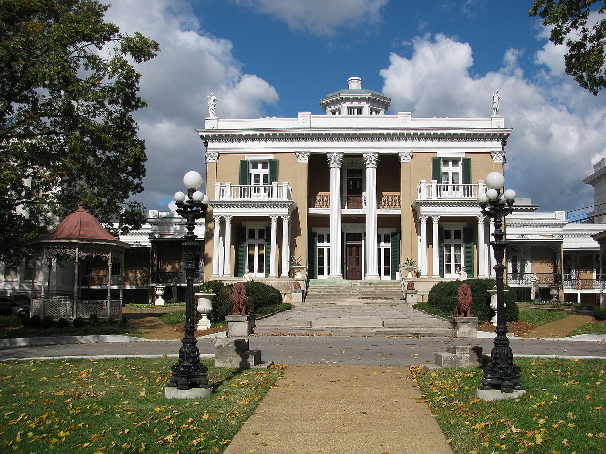 Belmont Mansion Tennessee Wikipedia