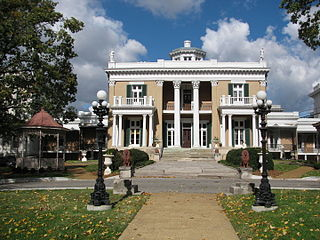 Belmont Mansion (Tennessee) human settlement in Nashville, Tennessee, United States of America