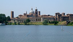 Mantova from Mincio