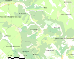 Map commune FR insee code 26350.png