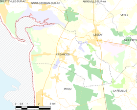 Map commune FR insee code 50151.png