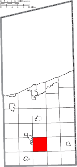 Location of New Lyme Township in Ashtabula County