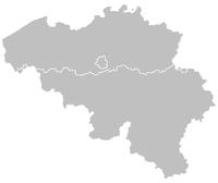 Locatie van Vlijtingen in Belgi�