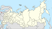 Map of Russia - Kaliningrad Oblast (2008-03).svg