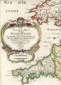 Map of the Kingdom of Wessex by Nicolas Sanson (1654).png