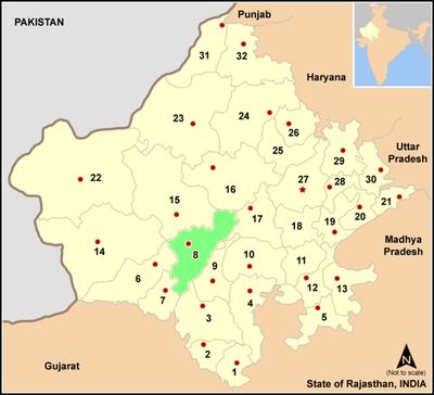 Pali district wikipedia pali district in rajasthan altavistaventures Gallery