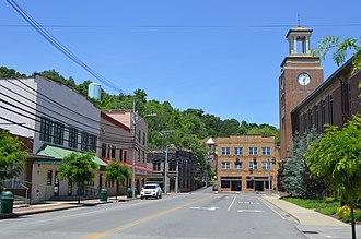 Salyersville, Kentucky - Downtown Salyersville