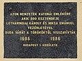 Marble Plaque - Mária Magdolna Torony, Budapest, Kapisztrán tér 6, 1014 Hungary.jpg