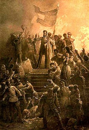 Hungarian Revolution of 1848 - Image: March 15